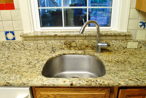 Kitchen Reno: Removing Our Sink & Our Old Granite Counters | Young ...
