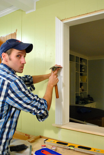 How To Trim Out A Cased Opening And A Half Wall Young