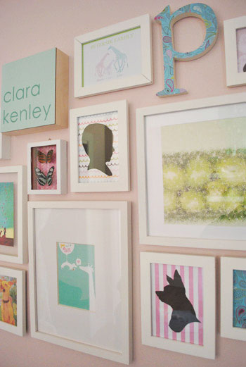 The Funny Thing Is That Many Of These Frames Hung In Clara S First Nursery Albeit A Slightly Diffe Arrangement With Few Differences What We