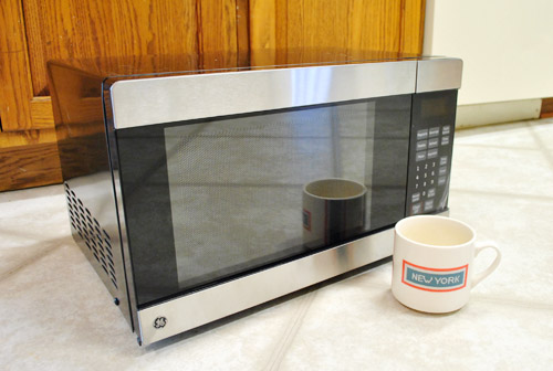How To Hide A Microwave Building It Into Vented Cabinet
