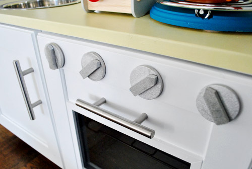 Perfect How To Make A Homemade Play Kitchen (From A Cabinet) | Young House Love