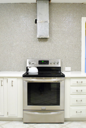 How to install penny tile and lots of it young house love - Installing wall tile backsplash ...
