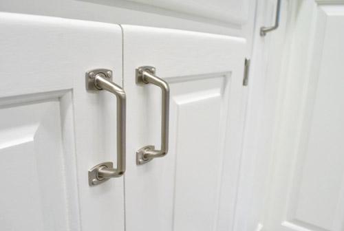 Amazing paint kitchen cabinets hardware detail smooth finish