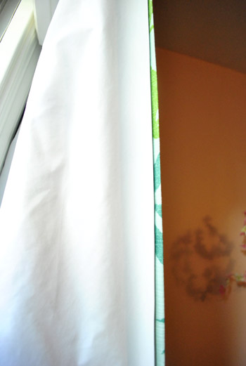 Curtains Ideas curtain liner blackout : Making $15 DIY Blackout Curtains | Young House Love