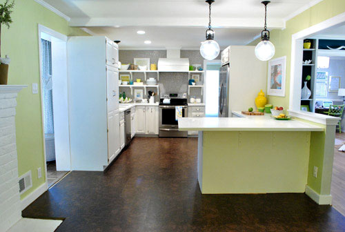 How To Install A Floating Cork Floor | Young House Love
