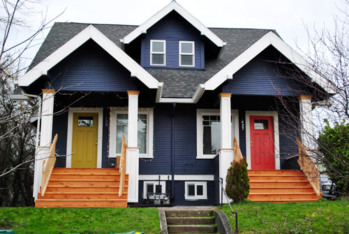 Portland Gray Color Family : This land is portland young house love