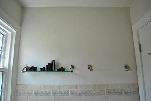 The long ignored master bathroom young house love - Scarpiera ikea 55 paia ...