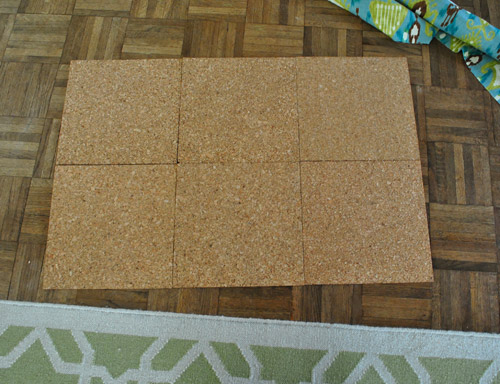 Making A Fabric Covered Bulletin Board