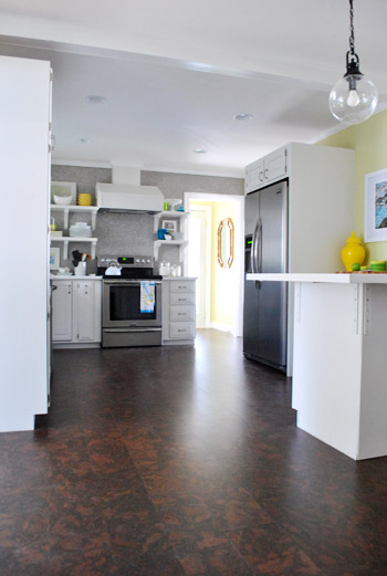 As For Our Plan With The Variety Of Mismatched Wood Floors That Surround  Our Freshly Corked Kitchen And Laundry Room, Weu0027re Huge Fans Of Flooring  That Looks ...