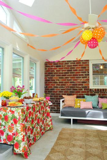Colorful Sunroom Decorating Ideas