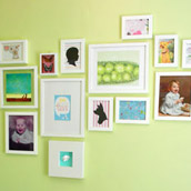 Assembling A Nursery Art Wall