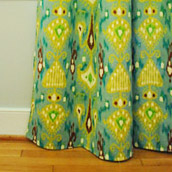 Sewing Bold Curtains