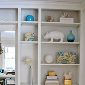 Styling Built-In Bookcases