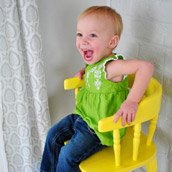 Refreshing An Old Highchair