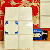 Demo-in Backsplash Tile