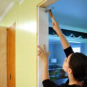 Adding A Ledge & Door Trim