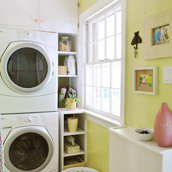 Upgrading Our Laundry Area