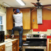 Removing Upper Cabinets