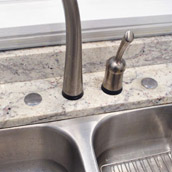 Capping Unused Faucet Holes
