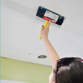 Patching Small Ceiling Holes