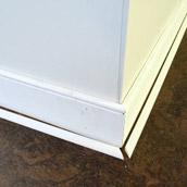 Sealing & Trimming New Floors