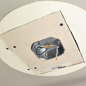 Patching Big Ceiling Holes