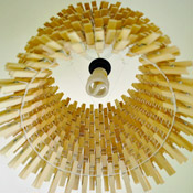 Making A Clothespin Chandelier