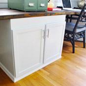 Adding A Built-In Desk