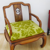 Upholstering A Chair