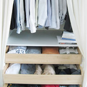 Organizing Bedroom Closets