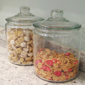 Storing Cereal Stylishly