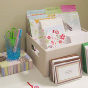 Making A Gift Wrap Station