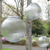 Hanging Glass Lanterns
