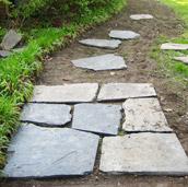 Laying A Slate Walkway