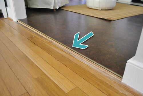 How To Add Floor Trim, Transitions, and Reducers | Young House Love