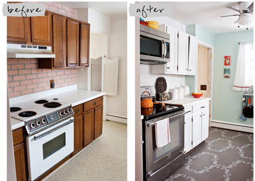 Reader redesign kitchen reboot on a budget young for Update my kitchen on a budget