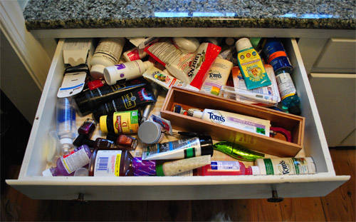Charmant Some Bathroom Drawer Organization To The Rescue