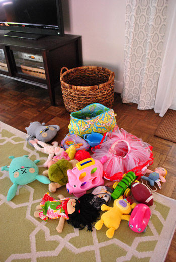 How We Organize Our Kid Clutter
