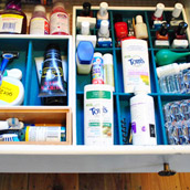 Organizing A Bathroom Drawer