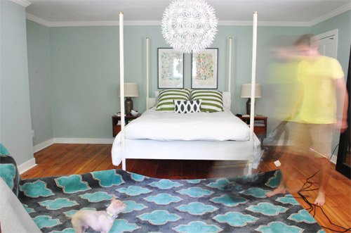 How To Place A Rug Under A Bed Rugs Ideas
