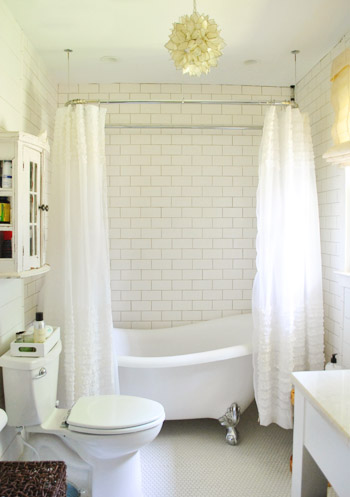 House crashing breezy bright young house love for Small bathroom design new zealand