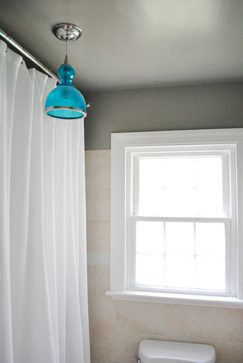 How to move a ceiling light to center it young house love so now that weve spent three months building up the energy to shift that light into the right spot once and for all we were ready to get going aloadofball Choice Image