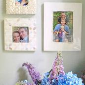 Hanging Anniversary Portraits