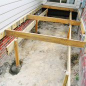 Setting Deck Posts