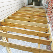 Laying Deck Joists