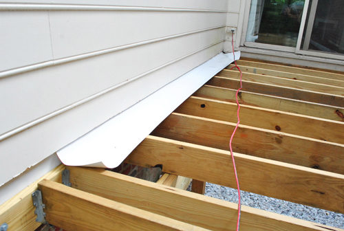 How To Build A Deck Building The Base Young House Love
