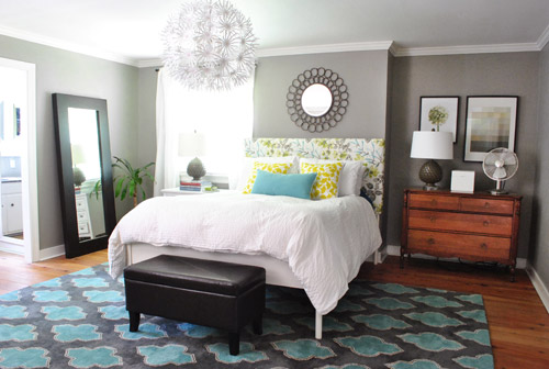 grey yellow and teal bedroom ideas  visi build d, Bedroom decor