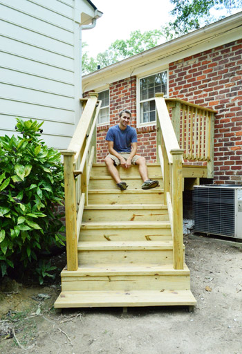 how to build a deck it s done young house love