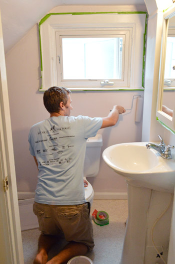 Day Two Of Our Big Bathroom Makeover For Granny Young