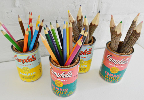 Turning Soup Cans Into Sweet Pop Art